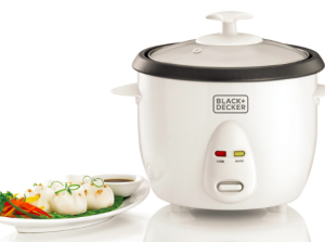 RC1050 Rice Cooker - 1L Black and Decker Mauritius