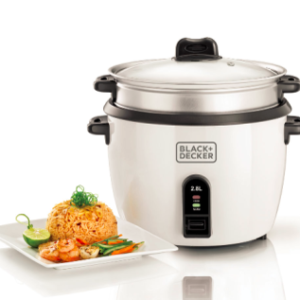 RC2850 Rice Cooker - 2.8L Black and Decker Mauritius