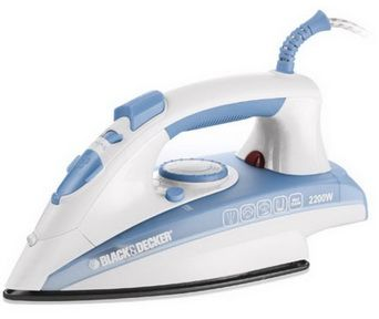 X2000 Steam Iron - 2200W Black and Decker Mauritius